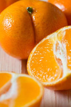 Mandarins Tangerines Closeup