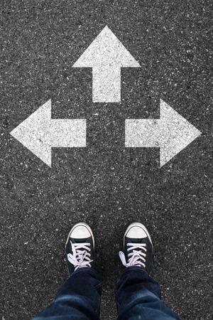 Direction choice.