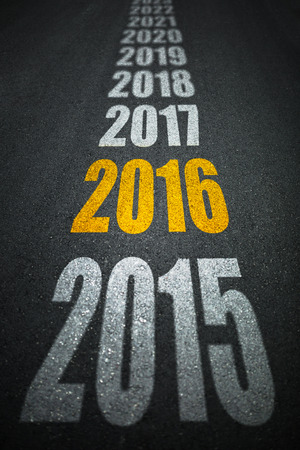 New year 2016 and future