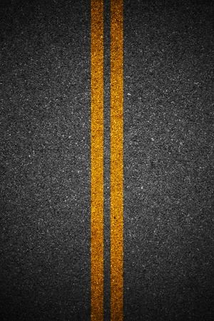 bumpy road: Asphalt as abstract background Stock Photo