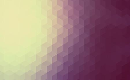 mosaic background: Polygonal cube mosaic background Stock Photo