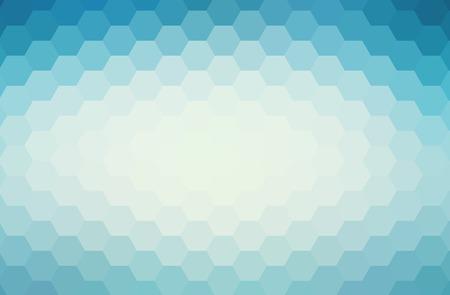 Abstract blue geometric background Фото со стока