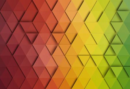 ephemera: Abstract triangle colorful background.