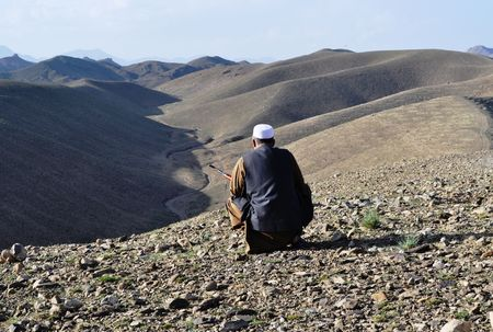 afghanistan: Pashtun Man with Rifle