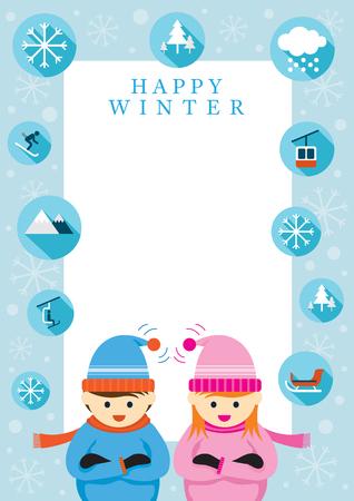 season: Winter Season, Snowing