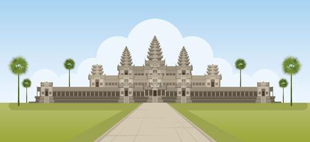 Angkor Wat, Cambodia, Landmark, Travel and Tourist Attraction