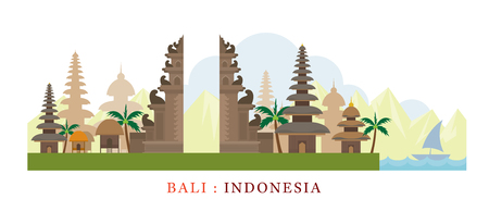Bali, Indonesia Travel and Attraction, Landmarks, Tourism and Traditional Culture