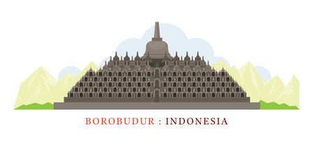 Borobudur, Indonesia, Landmarks, Tourist Attraction