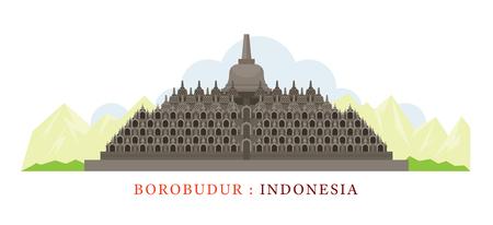 Borobudur, Indonesia, Landmarks, Tourist Attraction