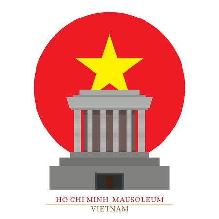 Ho Chi Minh Mausoleum, Hanoi, Vietnam, Culture, Travel and Tourist Attraction