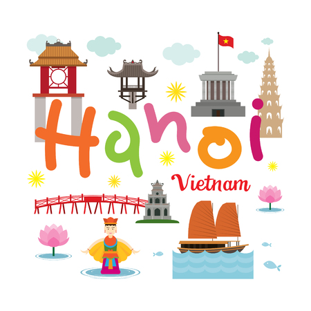 Hanoi Vietnam Travel and Attraction, Landmarks, Tourism and Traditional Culture