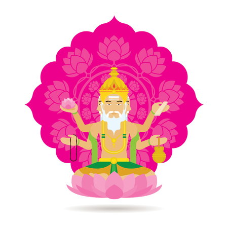 Hindu god.