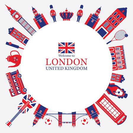 England and United Kingdom Tourist Attractions Frame, Famous Place, Travel Destinations and Objects