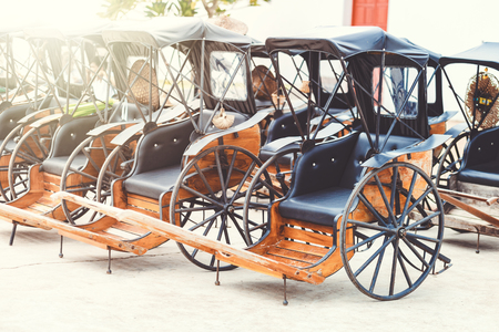 beautiful old carriage.