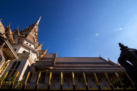 Landmark architecture Sothorn temple at Chachoengsao, Thailand 写真素材 - 122674553
