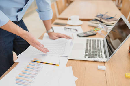 Business accounting confused, understand, unclear, disagree or problem working in office.