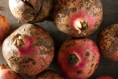 pomegranat: Pomegranates background.