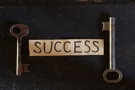 The Key to Success.  photo