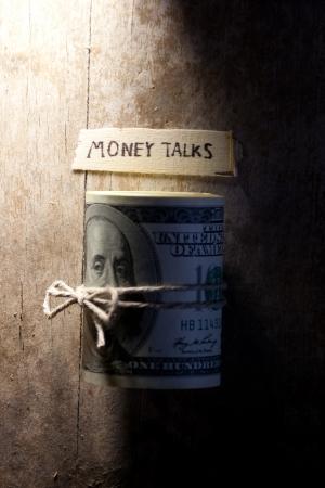 """conversaciones: ?oncept de el dinero habla, el dinero y la inscripci�n """"El dinero habla"""""""