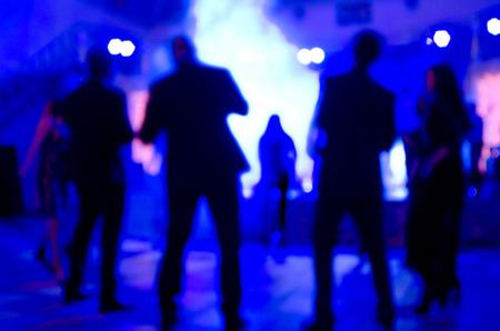 Party Background. Night party, festive background. photo