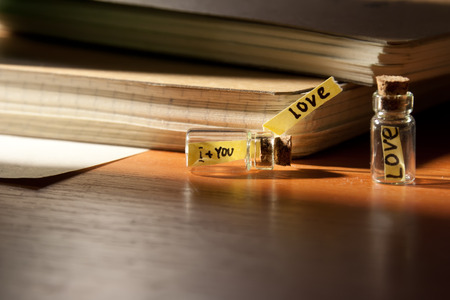 Love - is i and you. Love concept. photo