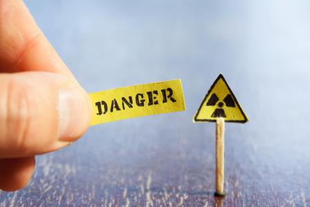 chemical warfare: Nuclear danger warning
