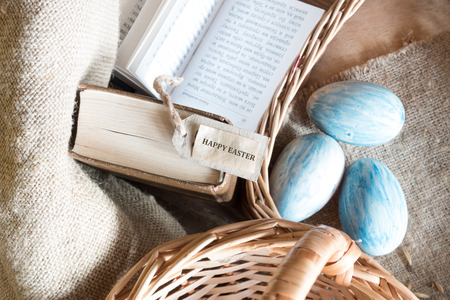 holiday prayer book: eggs and easter card