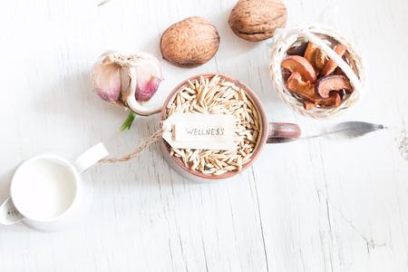 wellness, healthy food Stock Photo