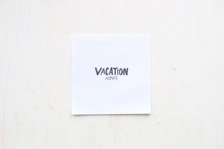 vacation ideas - art concept