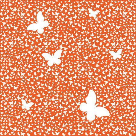 Pattern of butterflies or moths. Иллюстрация