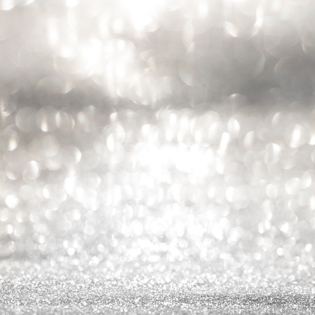 spiegelung: Festive abstract background with shiny silver sparkle effect
