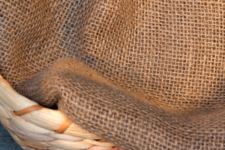 nahaufnahme: Close-up burlap background