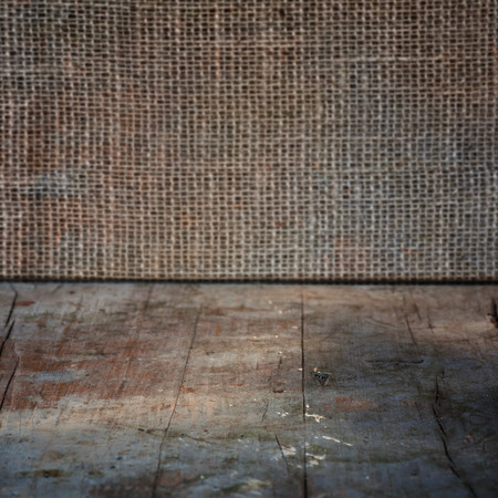 Hintergrund: Old grunge interior, wooden background