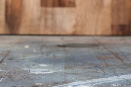grunge interior: Old grunge interior, wooden background