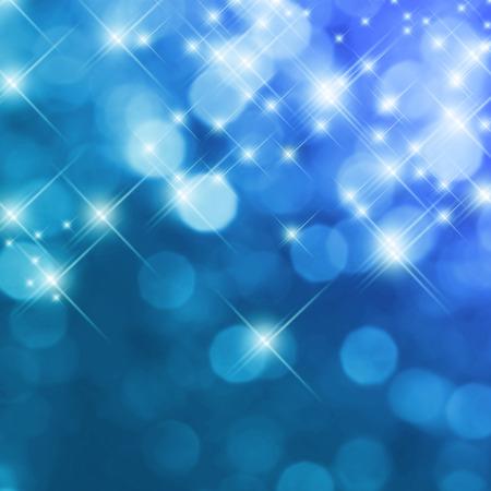 azul turqueza: Fondo festivo con brillantes efectos brillo