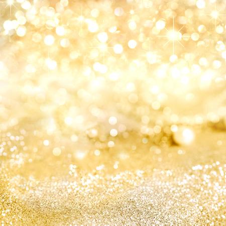 Décoratif fond d'or avec mousseux Banque d'images - 43360404