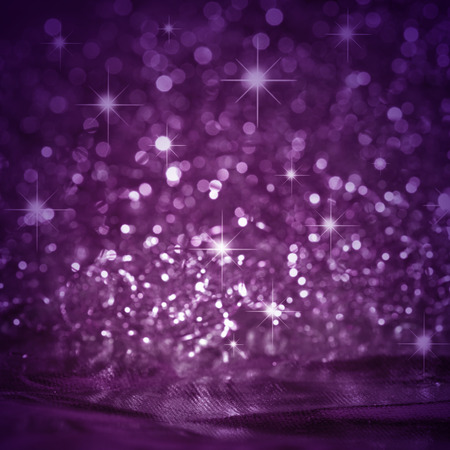 Beautiful background in purple with stars 免版税图像 - 43360729