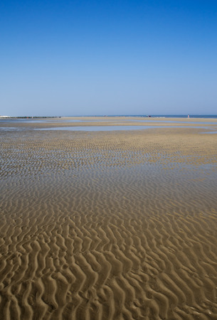 the wadden sea: Wadden sea in germany north sea region Stock Photo