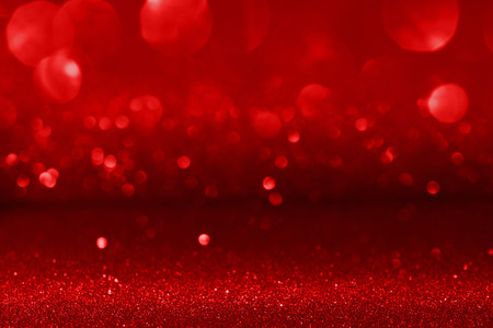 Valentines day background with bokeh