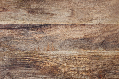 Wooden table with rustic dark structure
