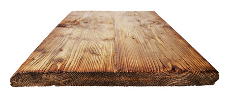 rustic: Dark tabletop with rustic structure on white