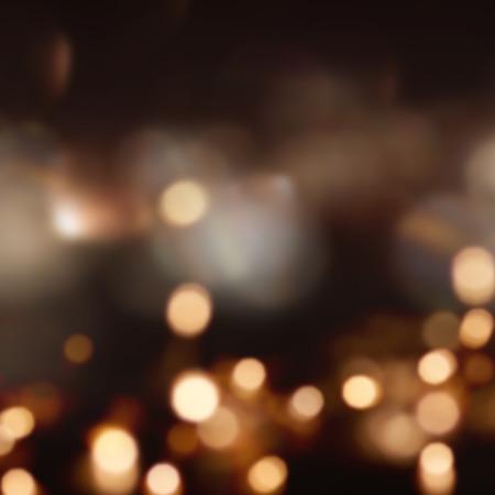 Festliche Weihnachten Hintergrund mit vielen Lichtern und bokeh Standard-Bild - 63841663