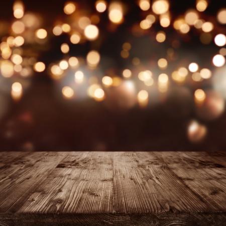 Achtergrond met lichten voor feestelijke evenementen