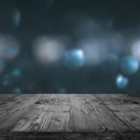 Background for festive occasions in dark blue wih bokeh