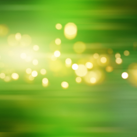Bright green background with bokeh for a fresh spring concept