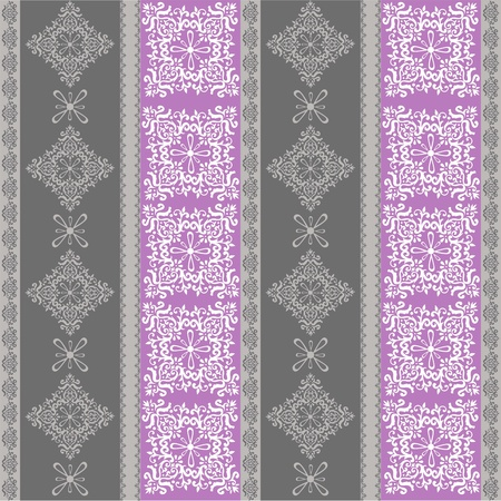 seamless fabric pattern ,seamless vector wallpaper Stock Vector - 12359496
