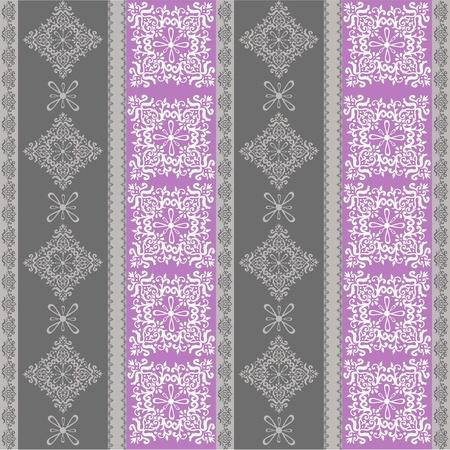 seamless fabric pattern ,seamless vector wallpaper Stock Vector - 12359496