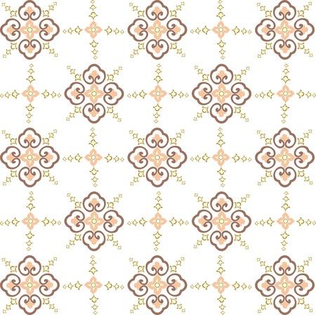 seamless vector wallpaper, seamless fabric pattern Stock Vector - 12902027