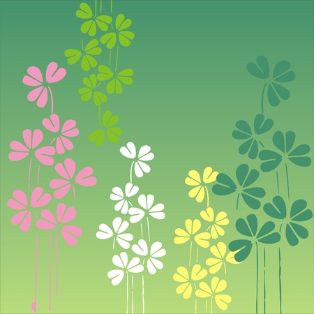 spring floral pattern,decorative floral pattern in spring quilt Stock Vector - 12902037