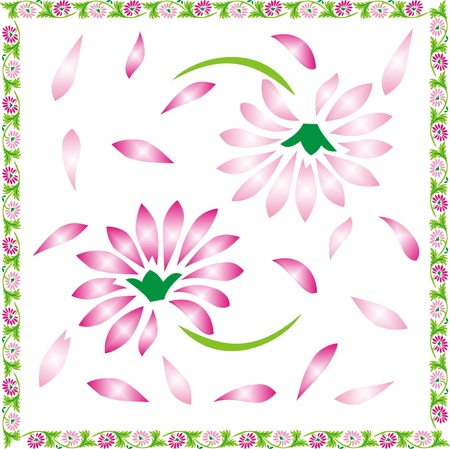 floral background, floral greeting card Stock Vector - 12902214
